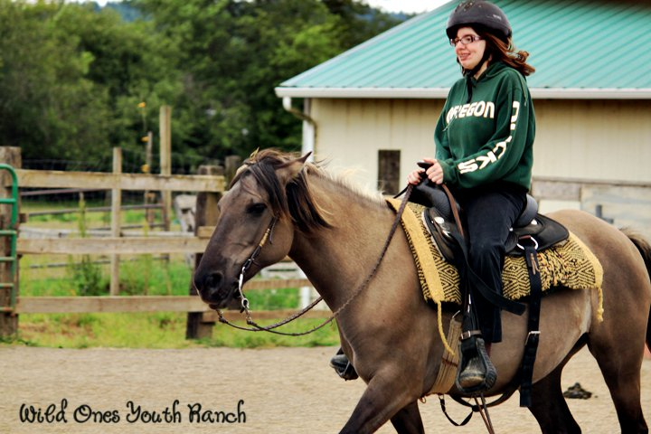 Ashley riding